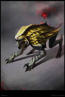 Darratha Creature Concept - Poster by Cloister