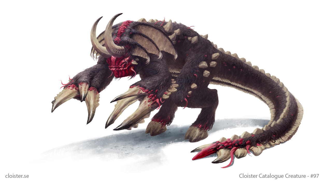 Neverenn - creature concept by Cloister