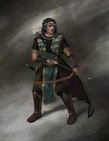 Grimwood Character Concept Illustration 6 by Cloister