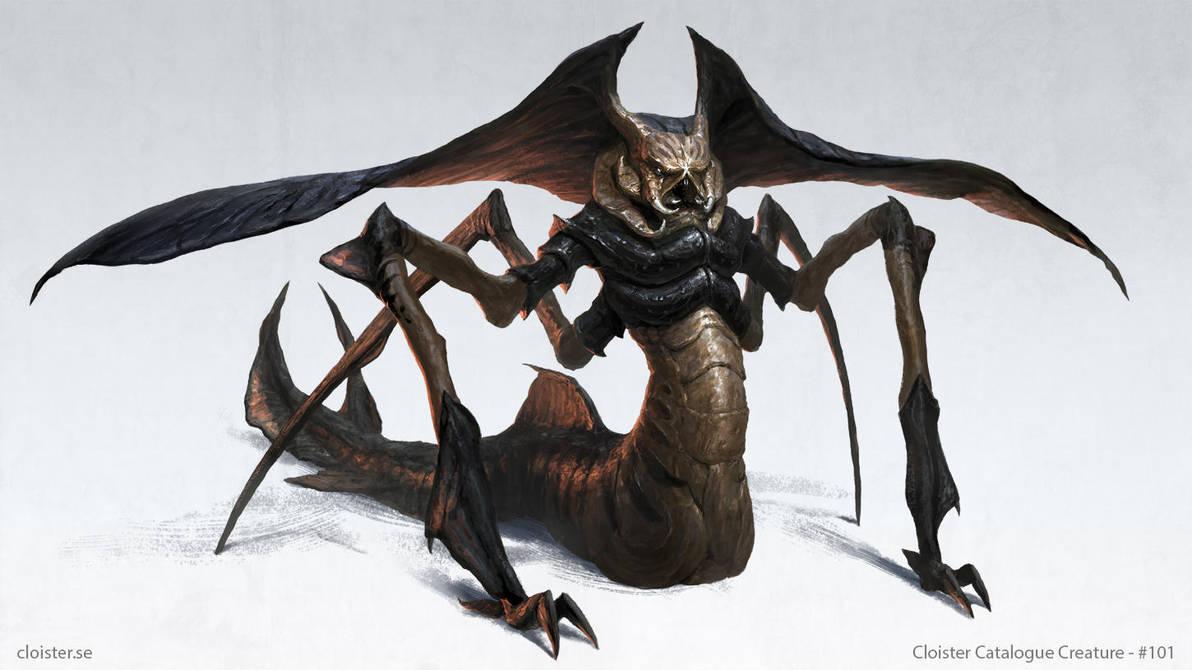 The Tar'Bukhi - creature design by Cloister