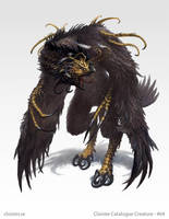 Drocharan - Creature concept by Cloister