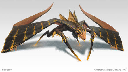 Ghidjarin - Creature Concept by Cloister