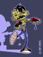 Zombie Walker by BezerroBizarro