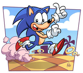 Sonic the Hedgehog by BezerroBizarro
