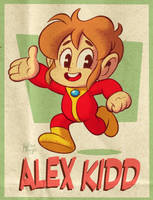 Alex The Kidd by BezerroBizarro