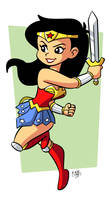Wonder Woman by BezerroBizarro