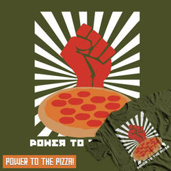 Propaganda Pizza Submission Entry by Gudsforladt