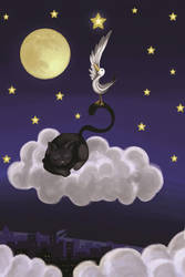 Storia di una gabbianella e del gatto che ... by lemoncurd91