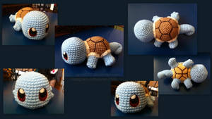 Baby Squirtle (with pattern) by aphid777
