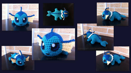 Baby Vaporeon (with pattern) by aphid777