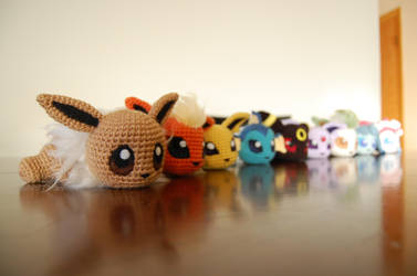 Baby Eeveelutions :D by aphid777