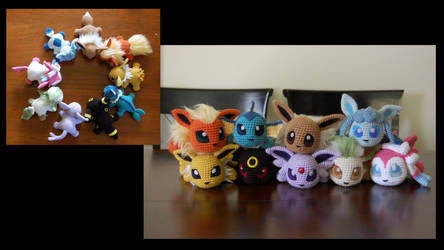 Eeveelutions! by aphid777