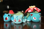 Bulbasaur Line by aphid777