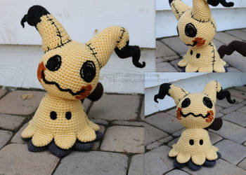 Mimikyu Collage by aphid777