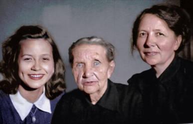 Three generations by madamescandaleuse
