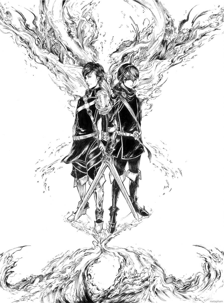 Fate of Chrom and Marth by Metapham