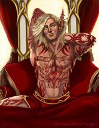 2019 Blood Elf Commission by BleedingHeartStudios