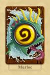 Hearthstone Murloc Back Cards by Sbapstien