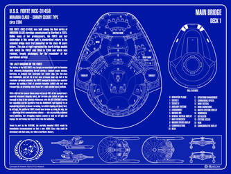 USS Forte NCC-31458 - Blueprint Edition by Phaeton99