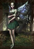 Forest Faerie by joannastar