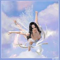 Sky Faerie by joannastar