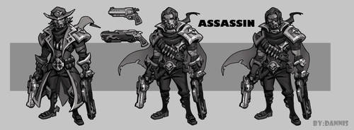 ASSASSIN by dannis1982