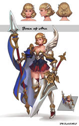 Joan of Arc by dannis1982