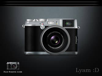 FUJI FINEPIX X100 by lyam-D