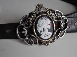 Steampunk belt buckle II by Hiddendemon-666