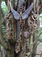 Steampunk keys by Hiddendemon-666