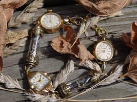 Steampunk fairy bracelet by Hiddendemon-666