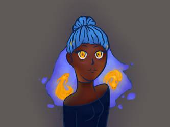 Destiny Blue Redraw by VanessaPie