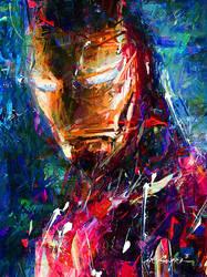 IRON MAN ART by DITOSUGITO