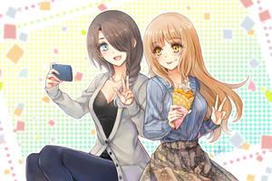 MoeComm - Let's selfie! by penguin-pinpin