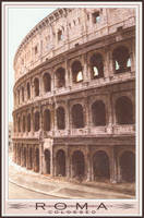Photoreal Colosseum Watercolor by pur9e