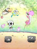Follow the leader by Gloomy-mushroom