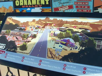 Cars Land Map by S775