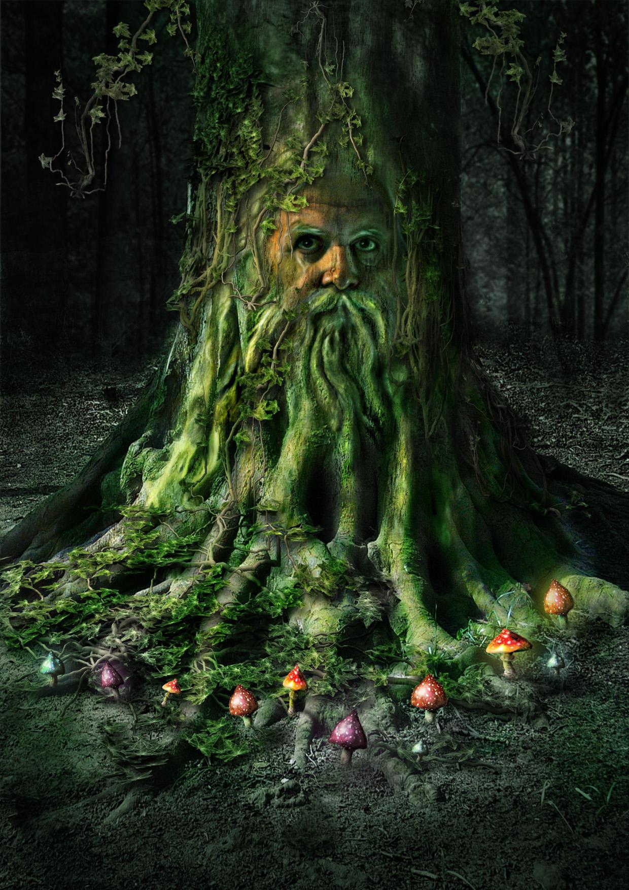 Green Man by markt3000
