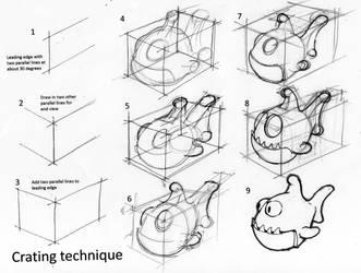 Psychofish crating tutorial by moonshot69