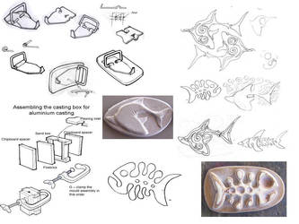 Belt buckle development page by moonshot69