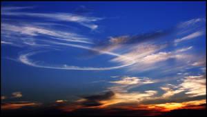 Sunset sky I by f-barros