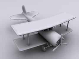 plane by AssamART