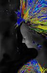 Headdress of Feathers by DJKpf