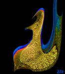 Fanciful Coloured Bird by DJKpf