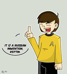 ST: Chekov by Nubmuh151