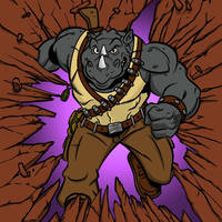 Rocksteady by WalkenTheDog