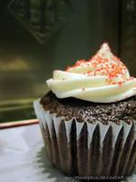 chocolate cupcake by ninjapumpkin