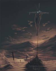 crucifix... by Matariil