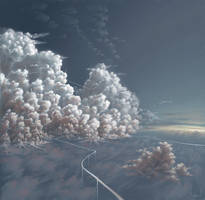 city-in-the-clouds_3 by Matariil