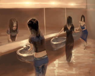In The Toilet... by Matariil